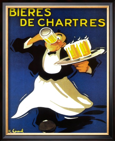 Bieres De Chatres Poster