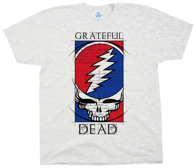 Grateful Dead- Steal Your Blueprint T-Shirt
