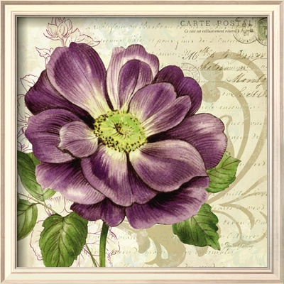 Study in Purple I Posters by Pamela Gladding