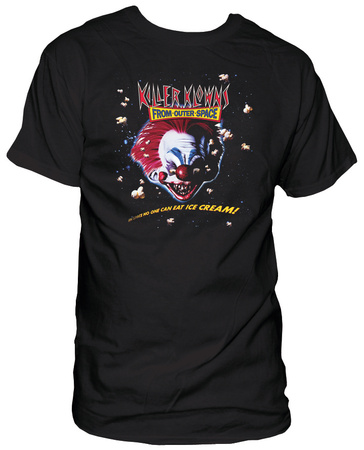 Killer Klowns From Outer Space - Ice Cream T-shirts
