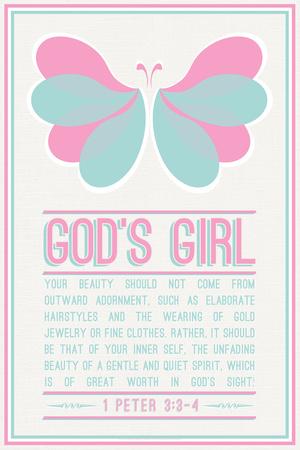 Butterfly Girl Prints