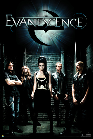 Evanescence - Group Shot poster