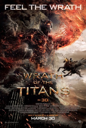 Wrath of the Titans Double-sided poster