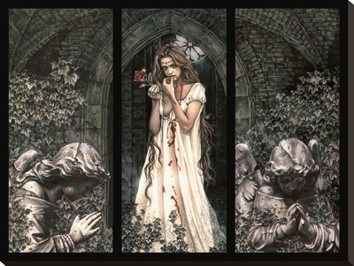 Victoria Frances-Triptych Leinwand
