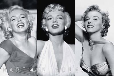 Marilyn Monroe Trio Prints