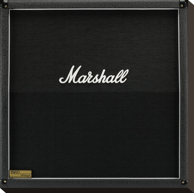 Marshall-Amp Leinwand