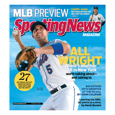 New York Mets' David Wright - March 30, 2009 Photo