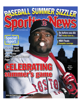 Boston Red Sox DH David Ortiz - June 23, 2006 Photo
