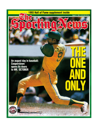 Oakland A's OF Reggie Jackson - August 2, 1993 Photo