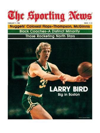 Boston Celtics' Larry Bird - February 9, 1980 Foto