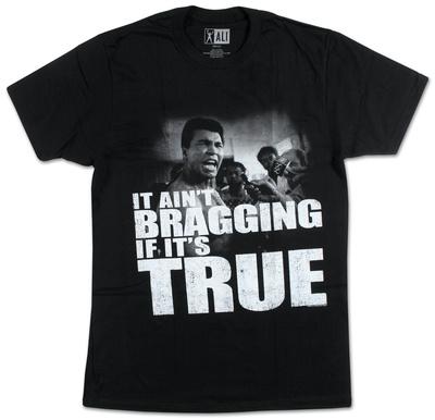 Muhammad Ali - Distressed True T-shirts