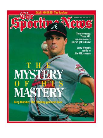 Atlanta Braves Pitcher Greg Maddux - October 9, 1995 Photo