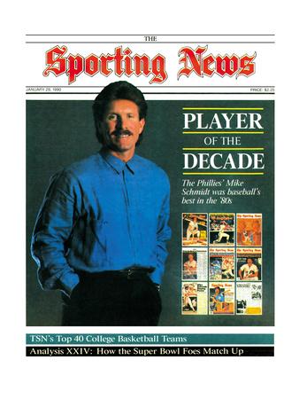 Philadelphia Phillies Legend Mike Schmidt - January 29, 1990 Foto