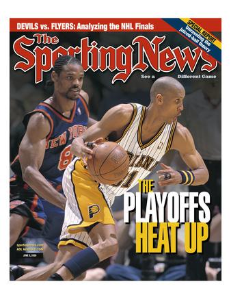 Indiana Pacers' Reggie Miller - June 5, 2000 Photo