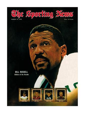 Boston Celtics' Bill Russell - March 14, 1970 Foto