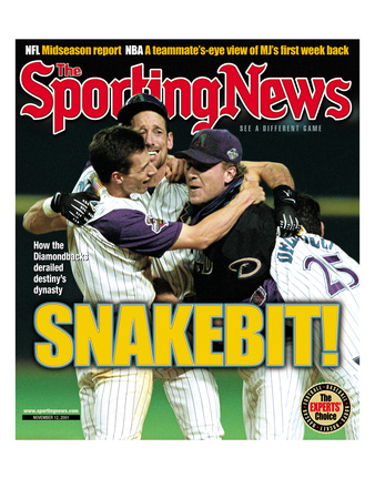 Arizona Diamondbacks - World Series Champions - November 12, 2001 Photo