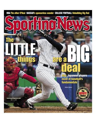 New York Yankees OF Hideki Matsui - May 17, 2004 Photo