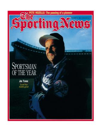 New York Yankees Manager Joe Torre - December 16, 1996 Photo