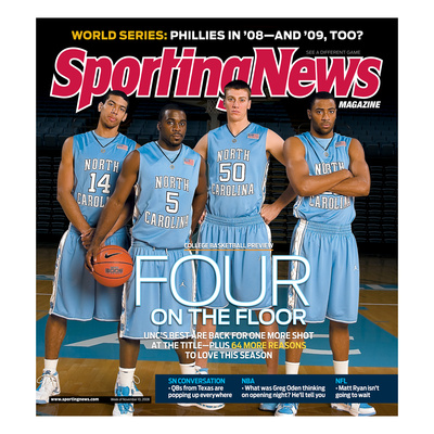 North Carolina Tar Heels Basketball - November 10, 2008 Photo