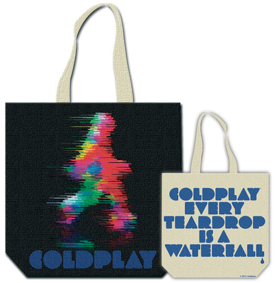 Coldplay - Fuzzy Man Tote Bag