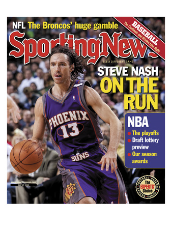 Phoenix Suns' Steve Nash - May 27, 2005 Photo