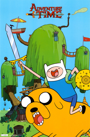 Adventure Time - Finn & Jake Prints