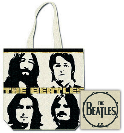 The Beatles -Headshot Tote Bag