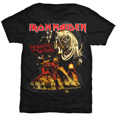 Iron Maiden - Number of the Beast T-Shirts - bij AllPosters.be