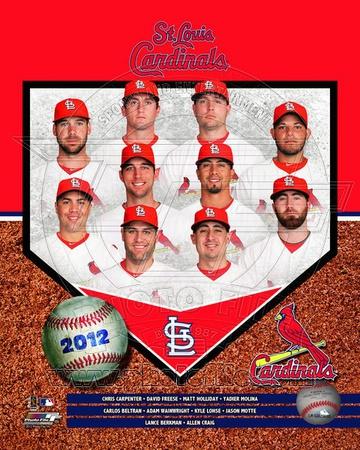 St. Louis Cardinals 2012 Team Composite Photo