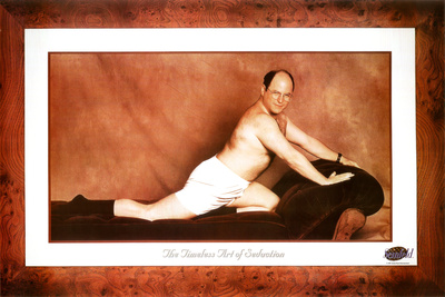 Seinfeld George The Timeless Art of Seduction TV Poster Print Plakat
