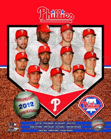 Philadelphia Phillies 2012 Team Composite Photo