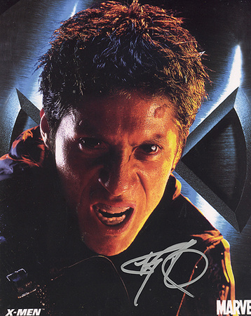 Ray Park X Men Full Face Autographed Movie Photo (Hand Signed Collectable) Foto
