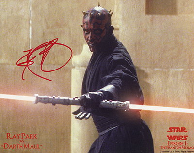 Ray Park As Darth Maul Photo Photo