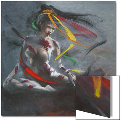 Geisha I Umění na kovu