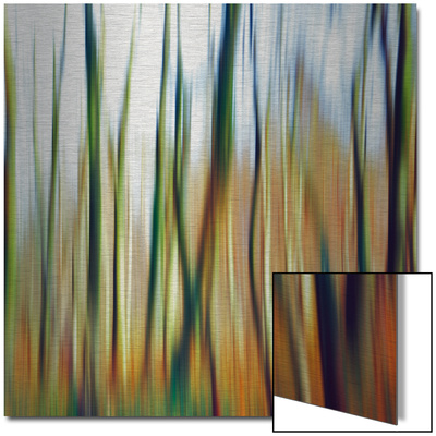 Abstrahierte Welten I Art sur aluminium (Dibond)