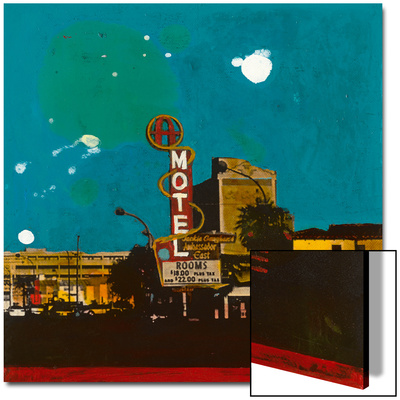 Motel Art on Acrylic