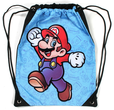 Super Mario Drawstring Bag