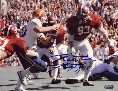 Marty Lyons Alabama Action vs Florida Autographed Photo (Hand Signed Collectable) Photo
