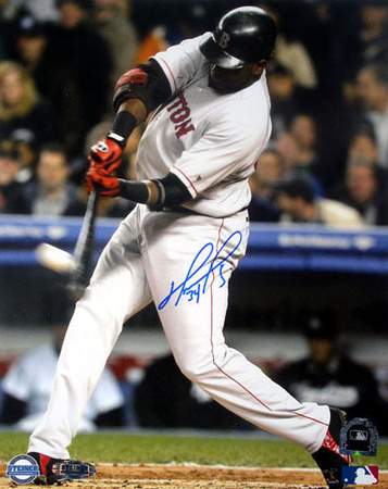 David Ortiz  ALCS Game 7 1st Inning Home Run Photographie