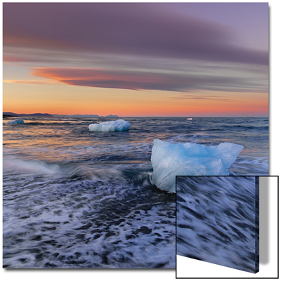 Ice and Sea Prints by  Strand