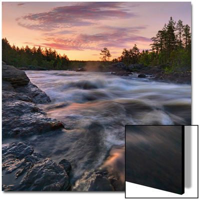 Voxnan River Prints by  Strand
