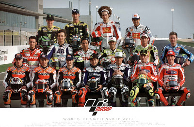 Moto G.P. Group Riders 2011 Photo