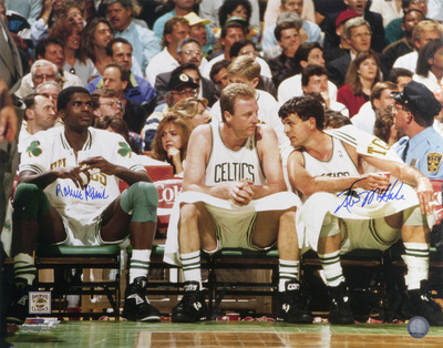 Kevin McHale and Robert Parish Boston Celtics Photo