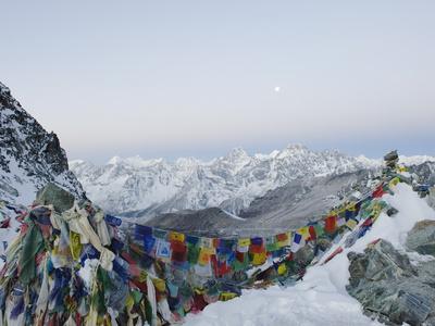 Cho La Pass, Solu Khumbu Everest Region, Sagarmatha National Park, Himalayas, Nepal, Asia Photographic Print by Christian Kober