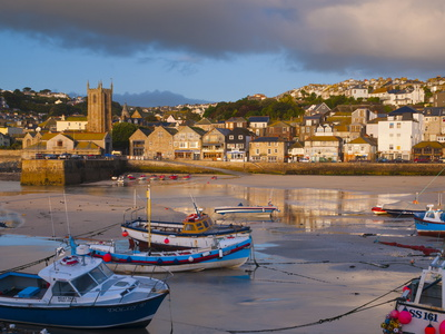 St. Ives Harbour, Cornwall, England, United Kingdom, Europe Photographic Print by Alan Copson