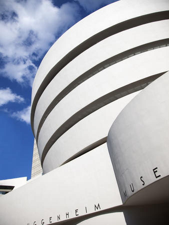 Guggenheim Museum, Designed By Frank Lloyd Wright, 5th Ave at 89th Street, New York Photographic Print by Donald Nausbaum