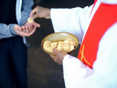Holy Communion, Paris, France, Europe Fotografisk tryk