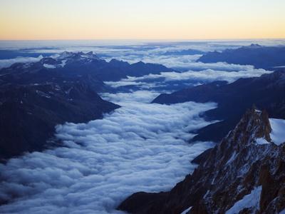 Aiguille Du Midi Cable Car Station, Mont Blanc Range, Chamonix, French Alps, France Photographic Print by Christian Kober