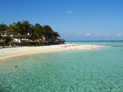 Playa Norte Beach, Isla Mujeres Island, Riviera Maya, Quintana Roo, Mexico, North America Photographic Print