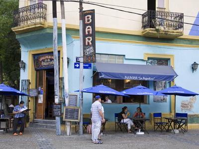 Pulperia La Argentina Bar in La Boca District of Buenos Aires, Argentina, South America Photographic Print by Richard Cummins